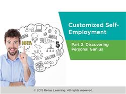 Customized Self-Employment Part 2: Discovering Personal Genius